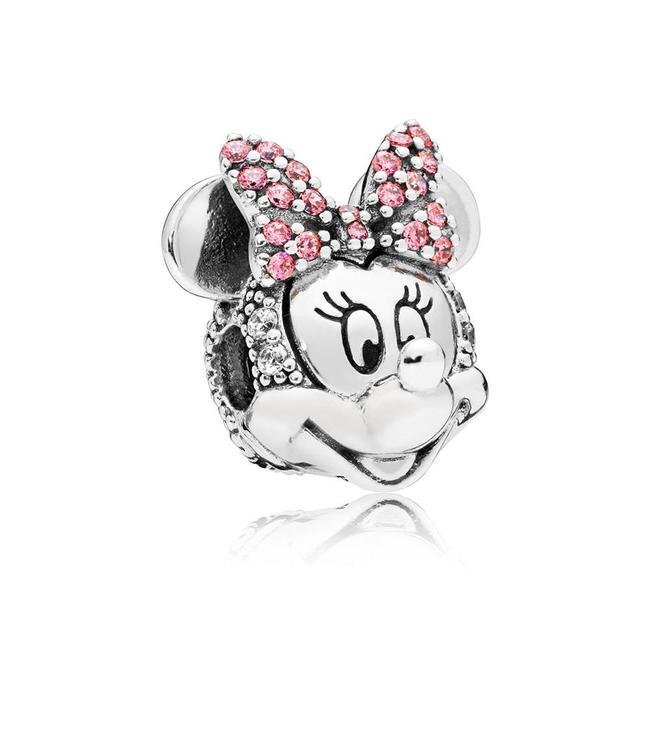 Pandora Disney, Shimmering Minnie Portrait clip 797496CZS