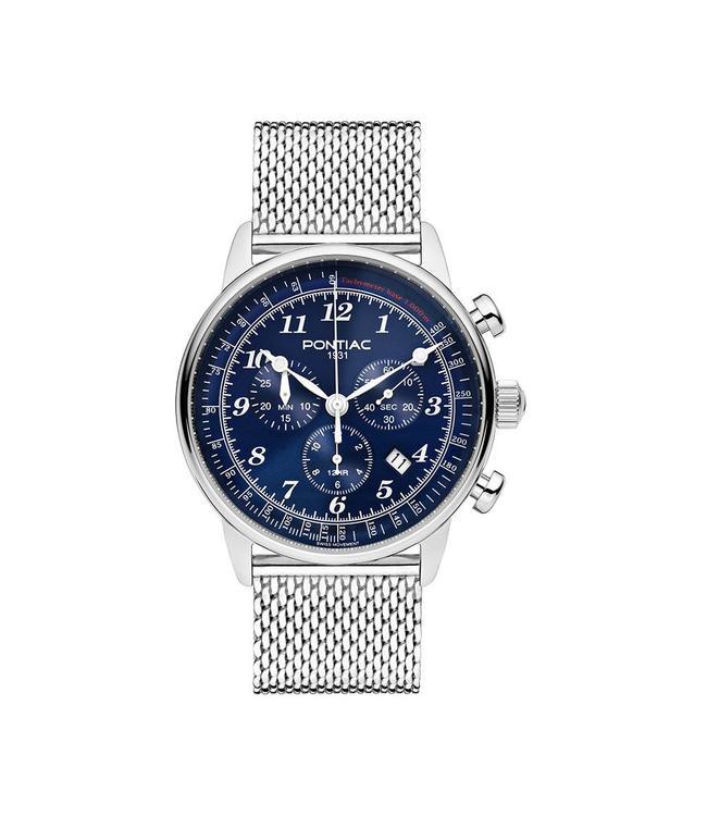 Pontiac Phoenix Chrono heren horloge P40021