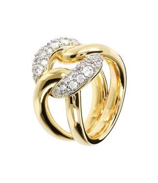 Bronzallure Fancy ring with CZ gemstone WSBZ01210YY