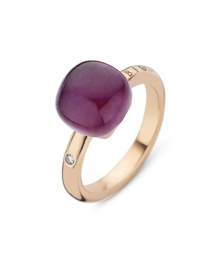 Bigli ring Mini Sweety Amethyst with Ruby 20R88Ramrub