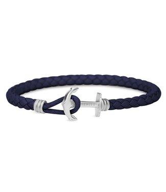 Paul Hewitt Änchor bracelet Phrep Lite Navy Blue PH-PHL-L-S-N
