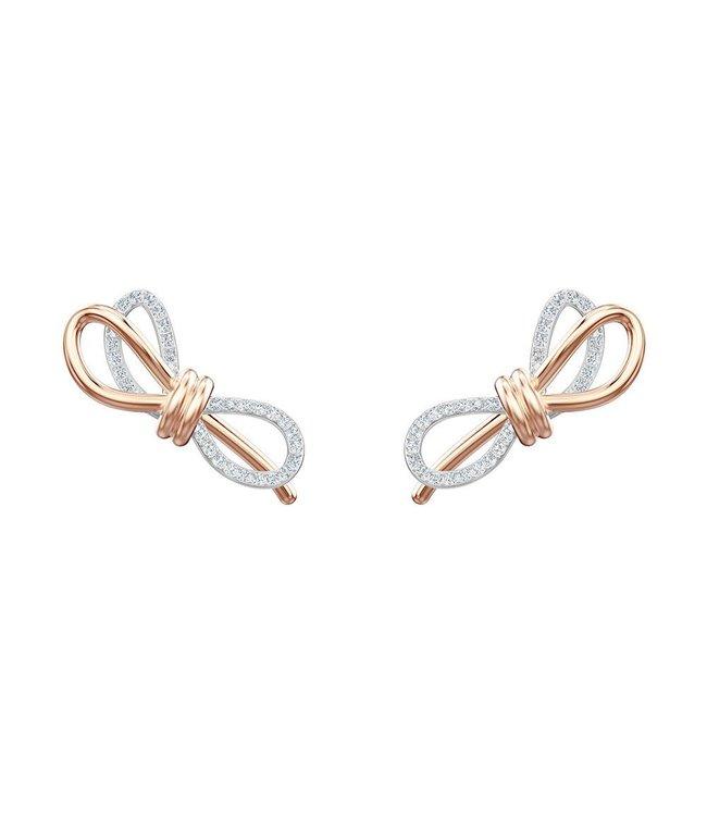 Swarovski Lifelong Bow pierced earrings Oversized Dress 5447089
