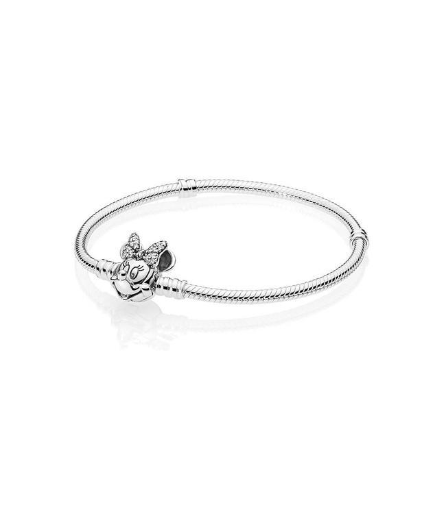 Pandora Disney, Shimmering Minnie Portrait bracelet 597770CZ