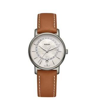 Rado Diamaster Diamonds Platin MOP dames horloge R14064945