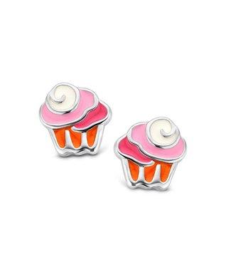 Orage Kids & Teenz oorbellen Cupcake O/3446