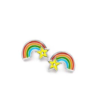 Orage Kids & Teenz oorbellen Regenboog O/3367