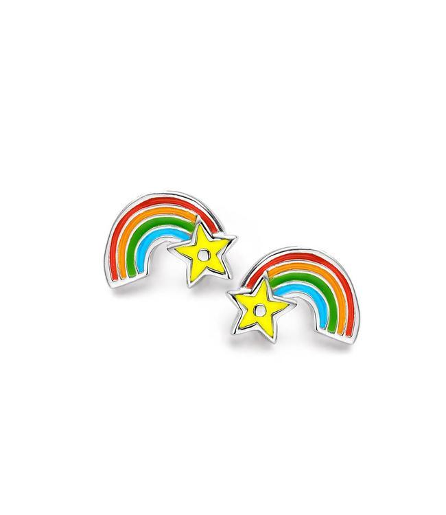Orage Kids oorbellen Regenboog O/3367