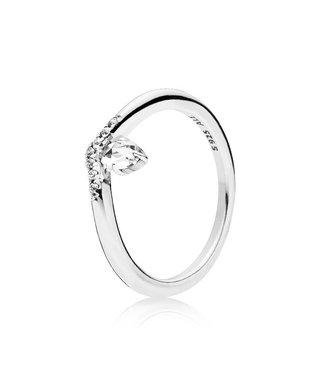 Pandora Classic Wish ring Stackable 197790CZ