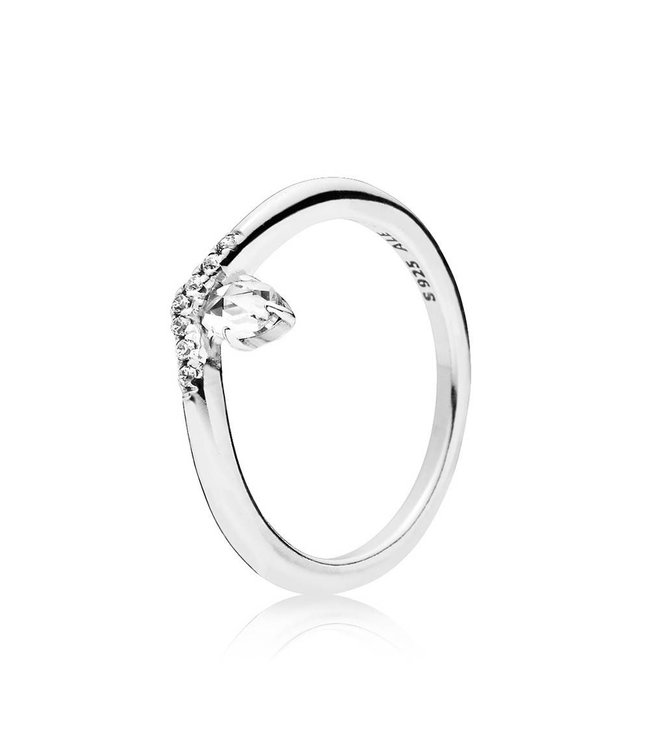 Pandora Classic Wish ring Stackable 197790CZ