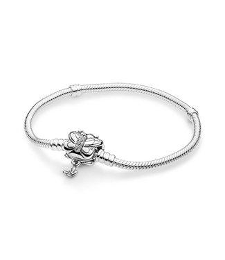 Pandora Decorative Butterfly silver bracelet 597929CZ