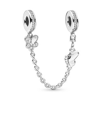 Pandora Decorative Butterflies safety chain 797865CZ