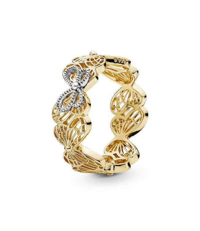 Pandora Openwork Butterflies ring 167947