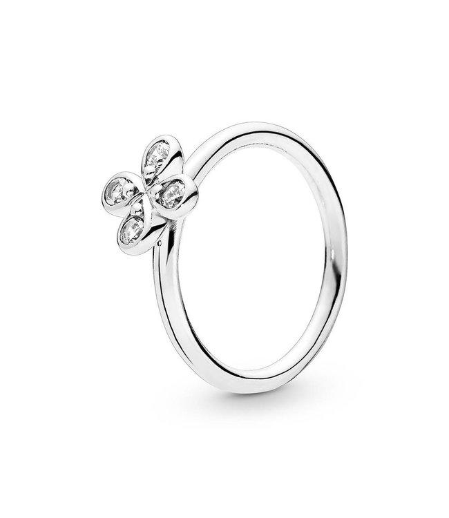 Pandora Four-Petal Flower ring 197967CZ