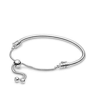 Pandora Moments Silver Sliding bangle 597953CZ