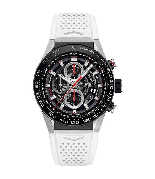 Tag Heuer Carrera Heuer 01 Automatic Chronograph heren horloge CAR2A1Z.FT6051