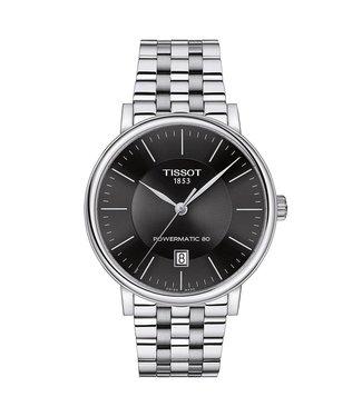 Tissot Carson Premium Powermatic 80 heren horloge T1224071105100