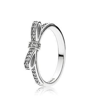 Pandora ring Bow 190906CZ
