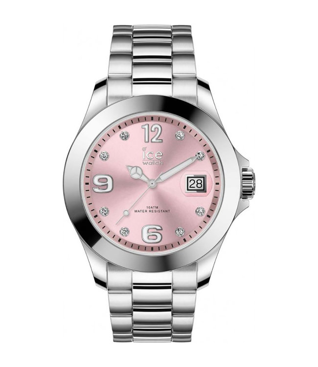 Ice Watch Ice Steel Classic - Light Pink SR - Stones - Medium 016776
