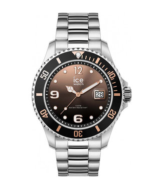 Ice Watch Ice Steel - Black Sunset Silver - Medium 016768
