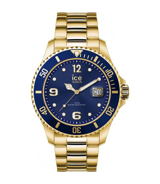 Ice Watch Ice Steel - Gold Blue - Large 016762