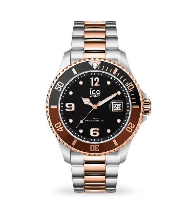 Ice Watch Ice Steel - Chic silver rose-gold - Large 016548