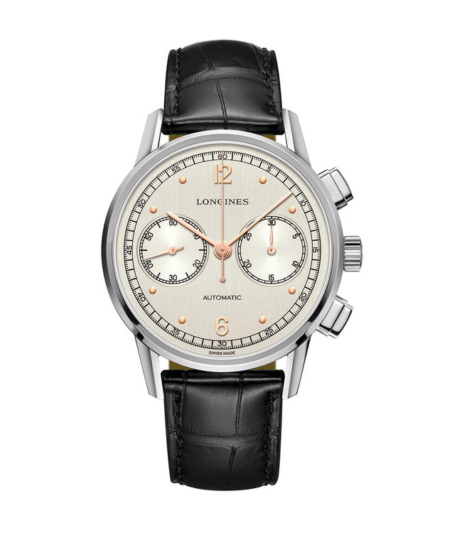 Longines Heritage Chronograph 1940 Automatic heren horloge L28144760