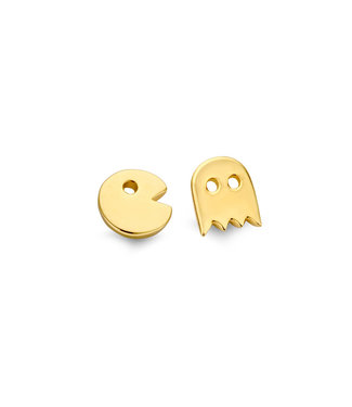 Orage TeenZ oorbellen Pacman verguld O/3191