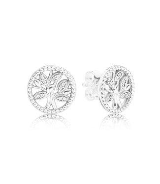 Pandora Trees of Life stud earrings 297843CZ