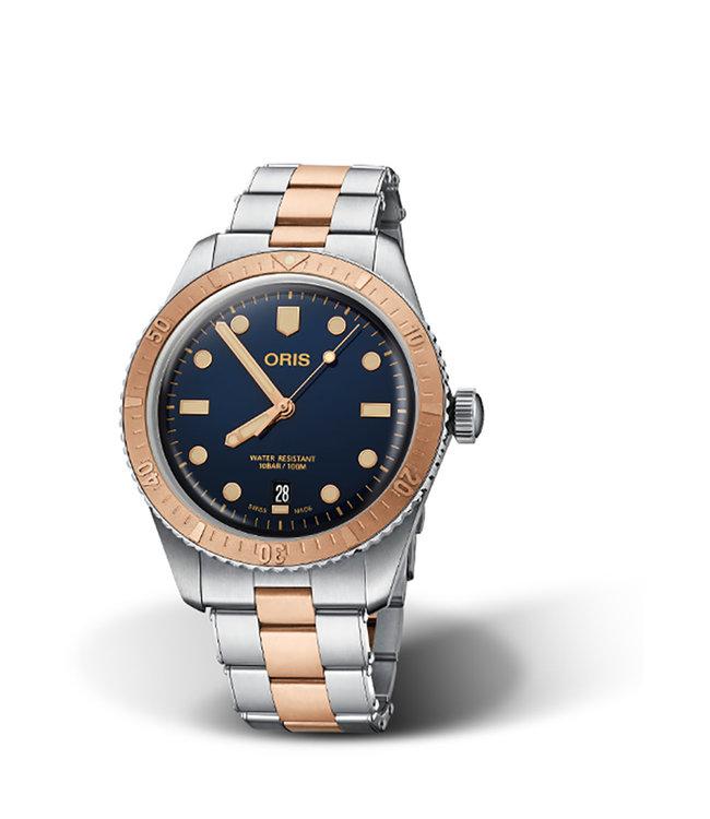 Oris Heritage Divers Sixty-Five heren horloge 0173377074355-07 8 20 17