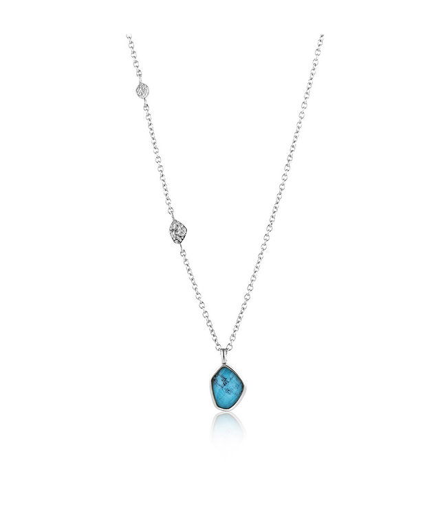 Ania Haie Mineral Glow Turquoise pendant silver N014-02H