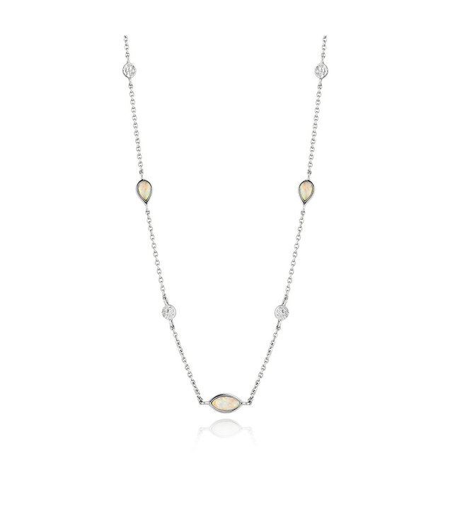 Ania Haie Mineral Glow Opal necklace silver N014-04H