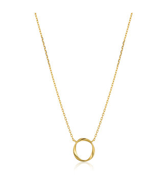 Ania Haie Twister Swirl necklace gold N015-02G