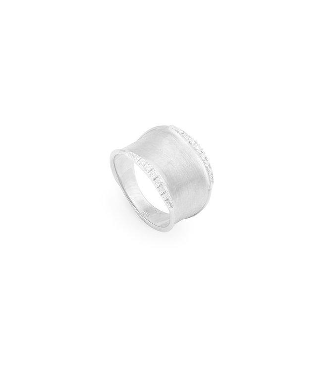 Marco Bicego ring Lunaria Diamonds AB550-B W-02 Size 55