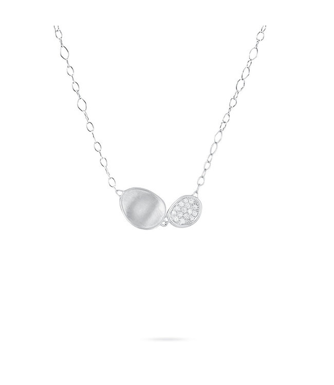 Marco Bicego ketting Lunaria Diamonds  CB1965-B W-02