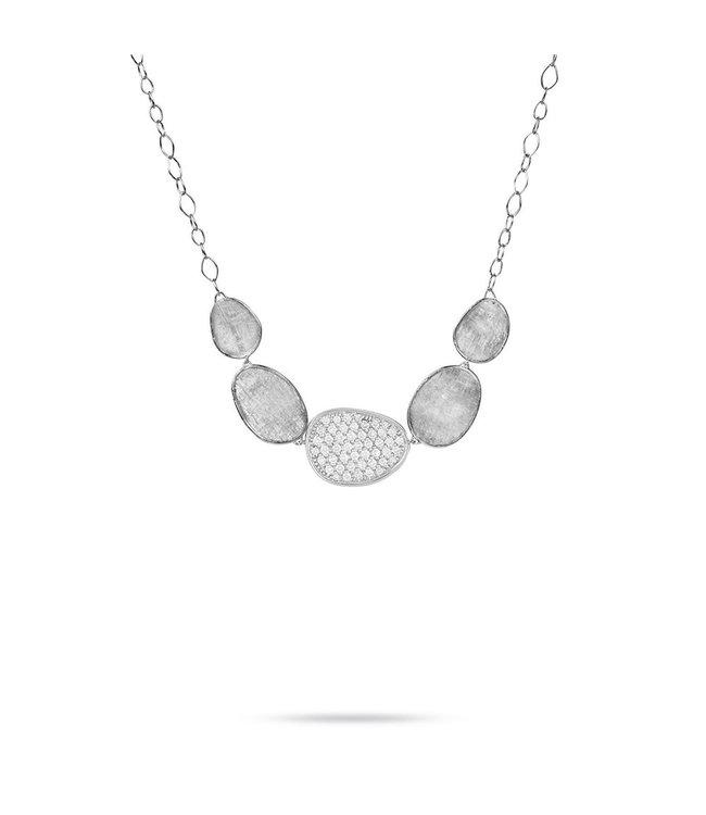 Marco Bicego ketting Lunaria Diamonds CB1974-B W-02