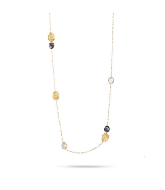 Marco Bicego ketting Lunaria Mother of Pearl CB1982-MPM