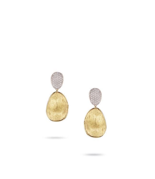 Marco Bicego oorbellen Lunaria Diamonds OB1432-B YW-Q6