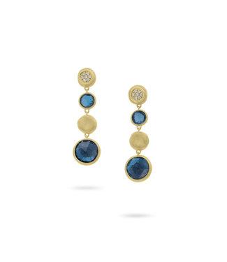 Marco Bicego oorbellen Jaipur London Topaz OB1570-B-TLP01 Y-02