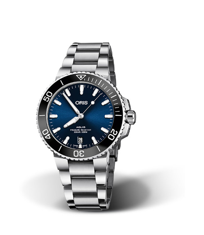 Oris Aquis Date Automatic heren horloge 0173377324135-0782105PEB