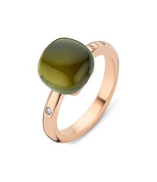 Bigli ring Mini Sweety Green Amethyst wit Green Tourmaline 20R88Rgagto
