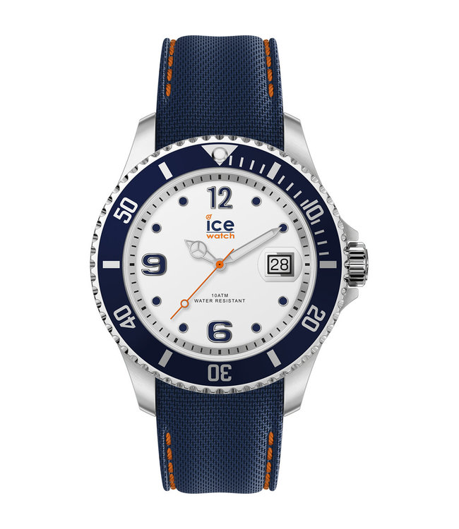 Ice Watch Ice Steel - White Blue - Large 016772