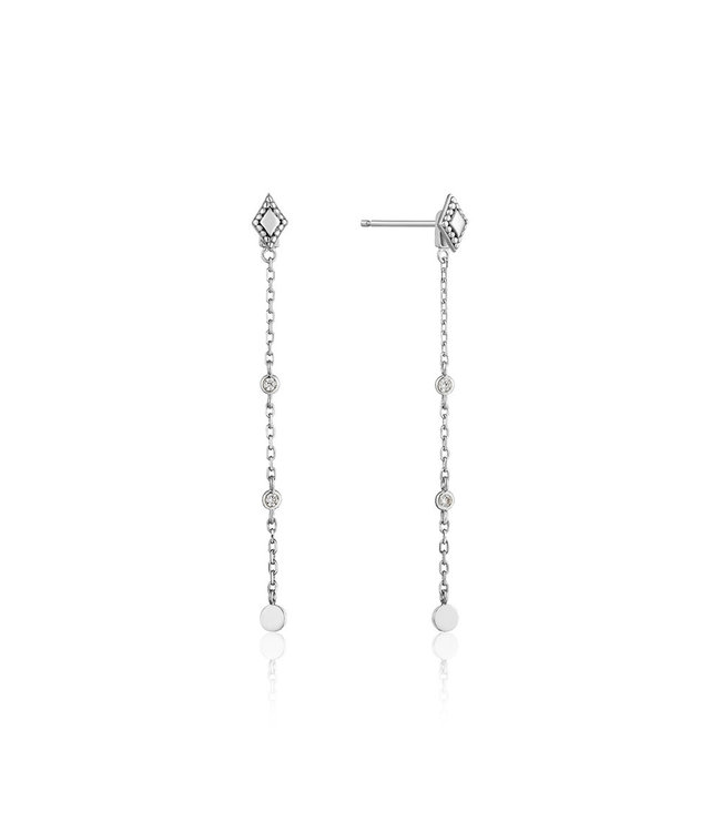 Ania Haie Bohemia Drop earrings silver E016-05H