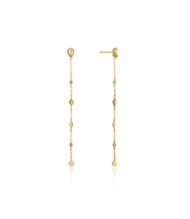 Ania Haie Bohemia Dream Drop earrings gold E016-07G