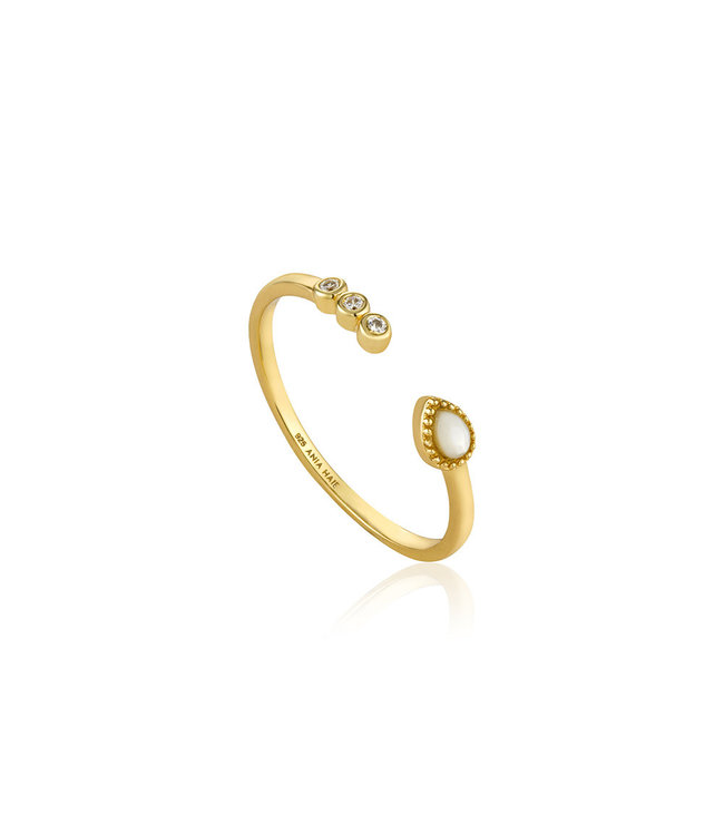Ania Haie Bohemia Dream Adjustable ring gold R016-01G