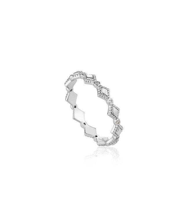 Ania Haie Bohemia ring silver R016-02H