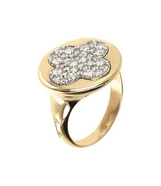 Bronzallure Shiny gemstone ring WSBZ01289Y.WR