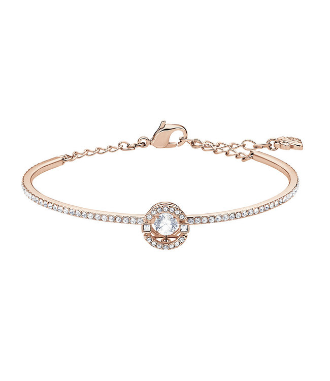 Swarovski Sparkling Dance bangle round rose 5497483