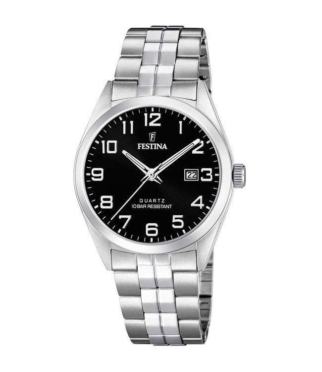 Festina Classic Date heren horloge F20437/4