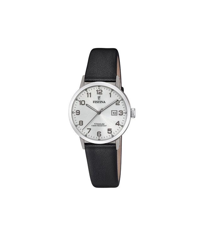 Festina Classic dames horloge Titanium F20472/1