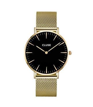 Cluse dames La Boheme Mesh Gold/Black CW0101201014